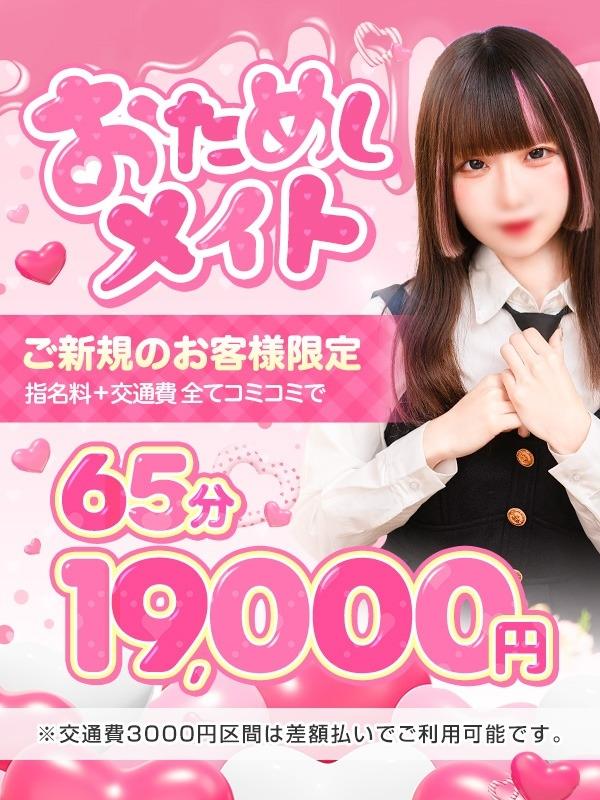 お試しメイトのプロフィール|東京の錦糸町でデリヘルをお探しならクラスメイト